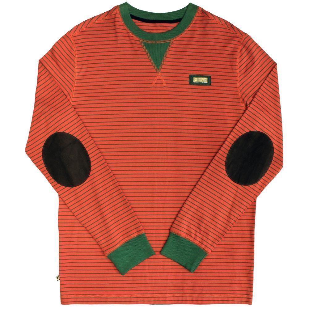 Cavi Bass Long Sleeve T-Shirt Rot Grün