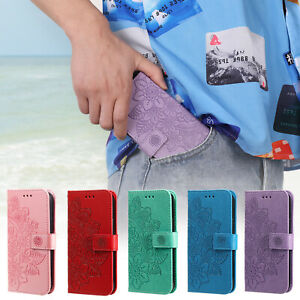 Case for iPhone 12 11 Pro Max 8 Plus Pattern PU Leather Flip Wallet Stand Cover