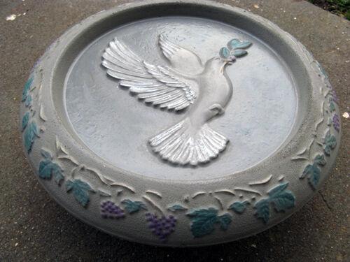 Fontaine Vasque à oiseaux criques Pour Béton Plâtre coulée-g0149