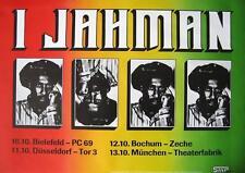 IJAHMAN TOUR POSTER / KONZERTPLAKAT