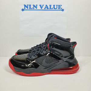 Nike-Jordan-Mars-270-Basketball-Shoes-Black-Red-Size-9
