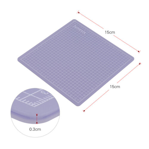 Translucent Self-Healing Cutting Mat Craft Grid Line Measurement Tools Art Hobby