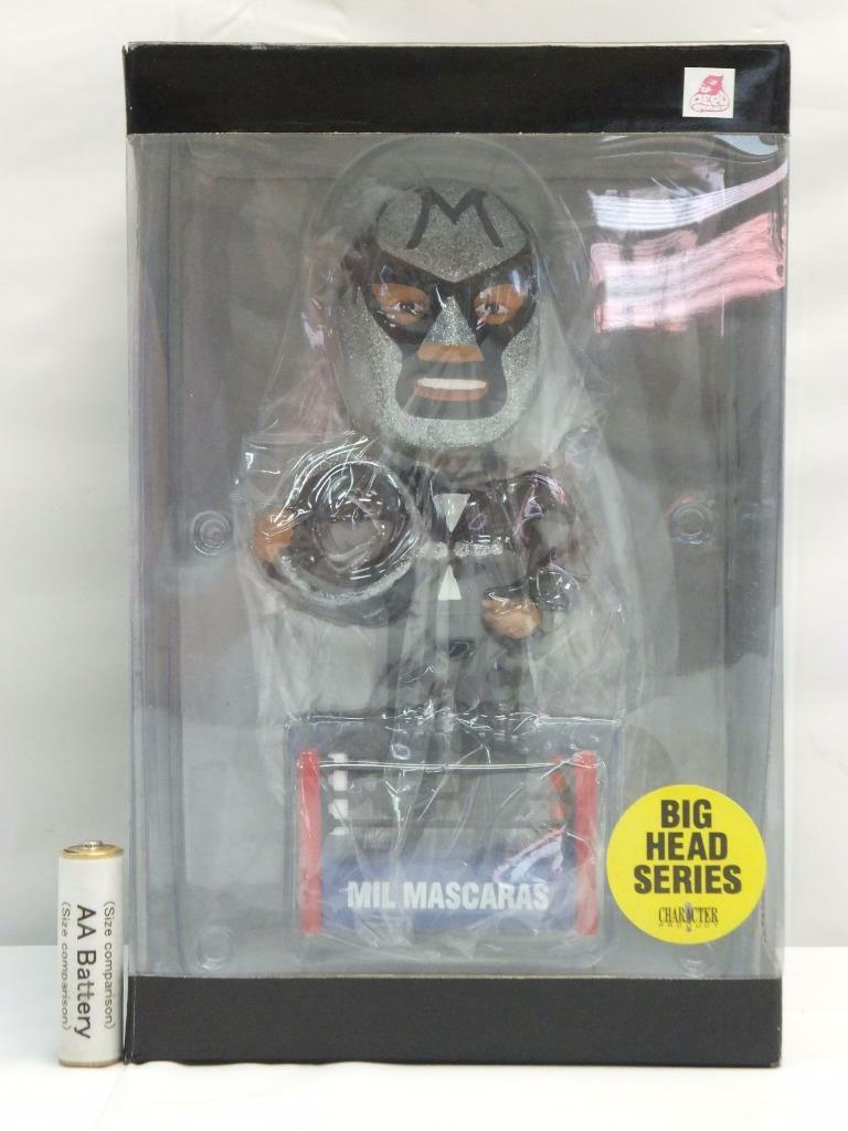 Mil Mascaras CHARACTER PRODUCT BIG HEAD SERIES BOBBING HEAD DOLL FIGURE ver.2