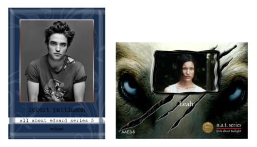 Rare Twilight ~ NAT cards ~ All About Edward Series 3 ~ 13th set ~ New