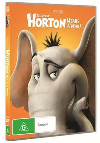 1 of 1 - HORTON HEARS A WHO ! : NEW DVD : Jim Carrey