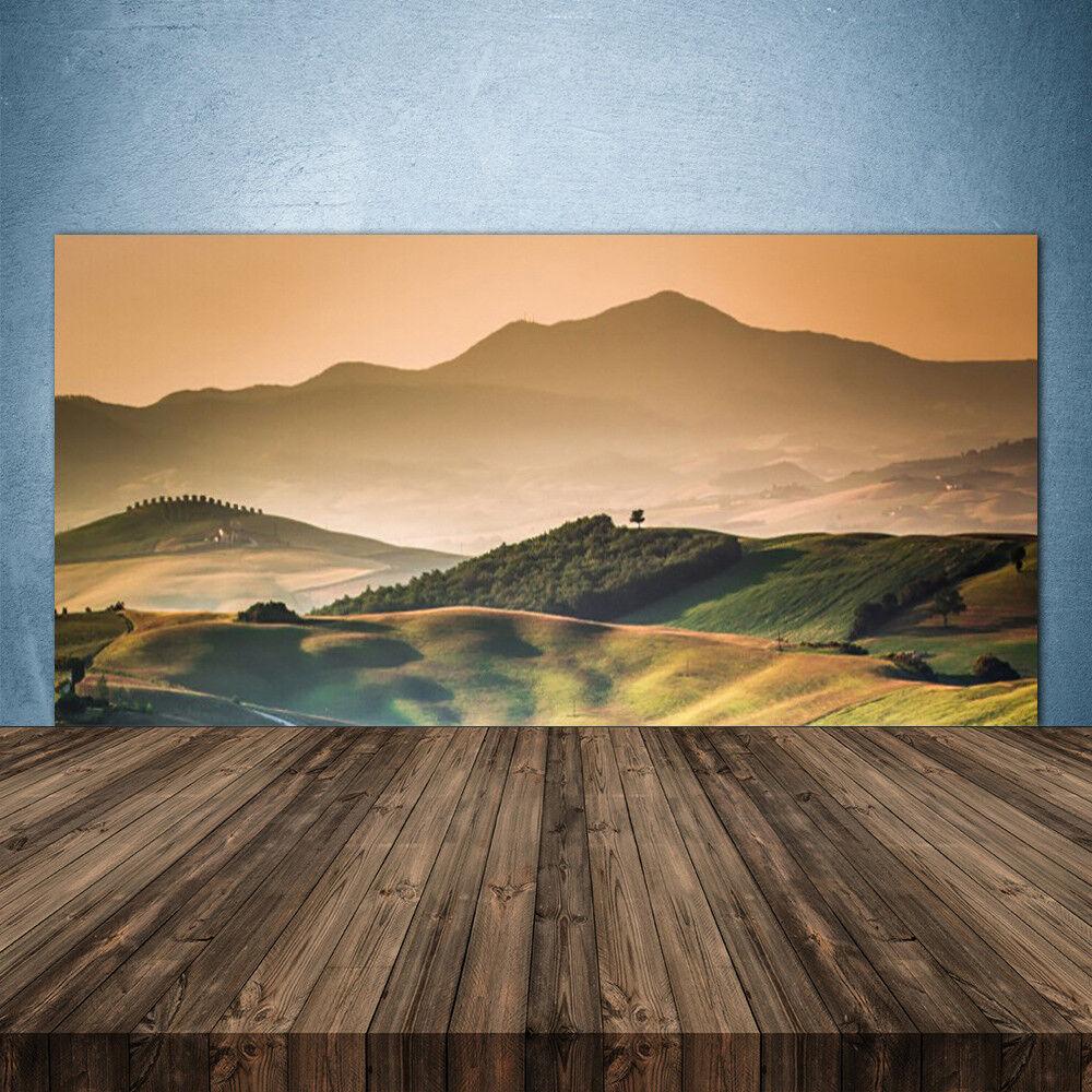 Crédence de cuisine en verre Panneau 140x70 Paysage Montagnes