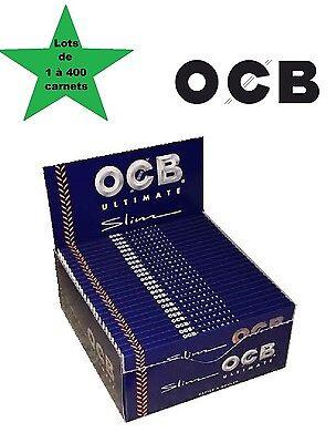 LES PLUS FINES DU MONDE ! OCB Courte Ultimate box de 50 carnets de 50 feuilles