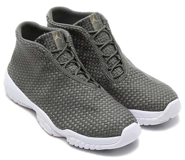 Nike Air Jordan Future Premium Sample Iron Green/White 656503-300 Men's SZ 8.5