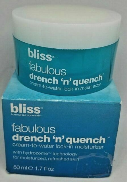 bliss fabulous drench and quench