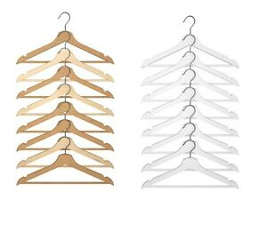 Ikea Bumerang Percha De Madera Para Trajes Abrigos Camisas Pantalones Libre Y Rapido Despacho Ebay