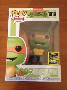 Funko POP! Michelangelo Surfboard (Teenage Mutant Ninja Turtles TMNT SDCC 2020)