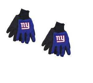 2pk-NFL-New-York-Giants-Sports-Utility-Work-Men-039-s-Gloves-BLUE