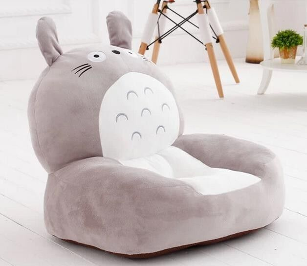 Totgold Lazy Plush Toy Floor Animal Chair Cushion Sofa For Kids Seat Gift 21''