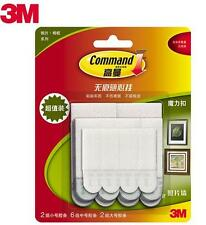 3M Command Damage-Free Picture & Frame Hanging Strips Value Pack FREE SHIPPING