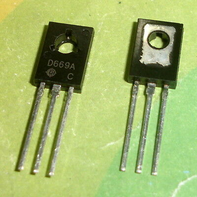50PCS New 2SD669A D669A Transistors