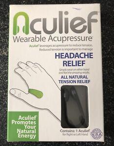 Aculief- Award Winning Natural Headache Relief - Wearable ...