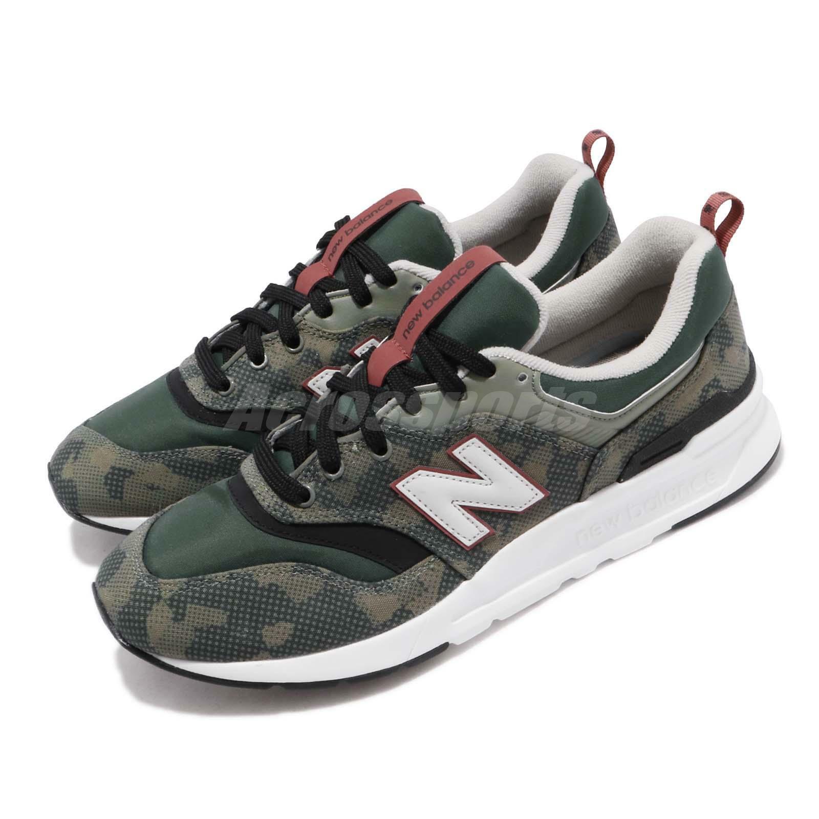 CM997HBG D verde Negro New Balance blanco Men Running Zapatos TENIS CM 997 hbgd