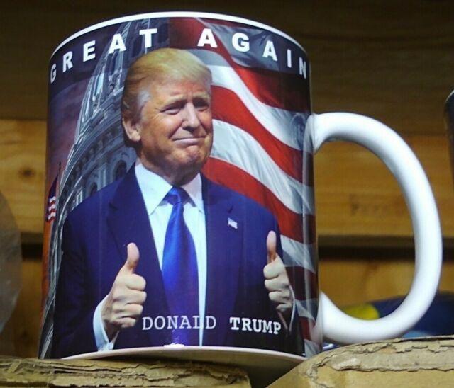 Potus Donald Trump 11 ounce ceramic coffee mug make America great again