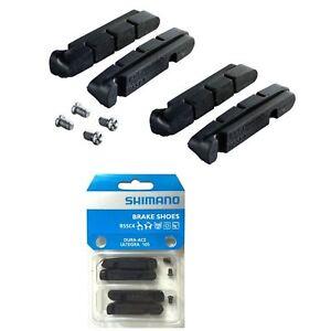 Shimano-Brake-Pads-Shoes-Blocks-R55C4-Black-for-Dura-Ace-Ultegra-105-2-Pairs