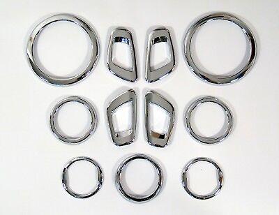 Zubehör für Chevrolet Spark  09-12 Chrom Set Innenraum  Interior Tuning 11 Teile