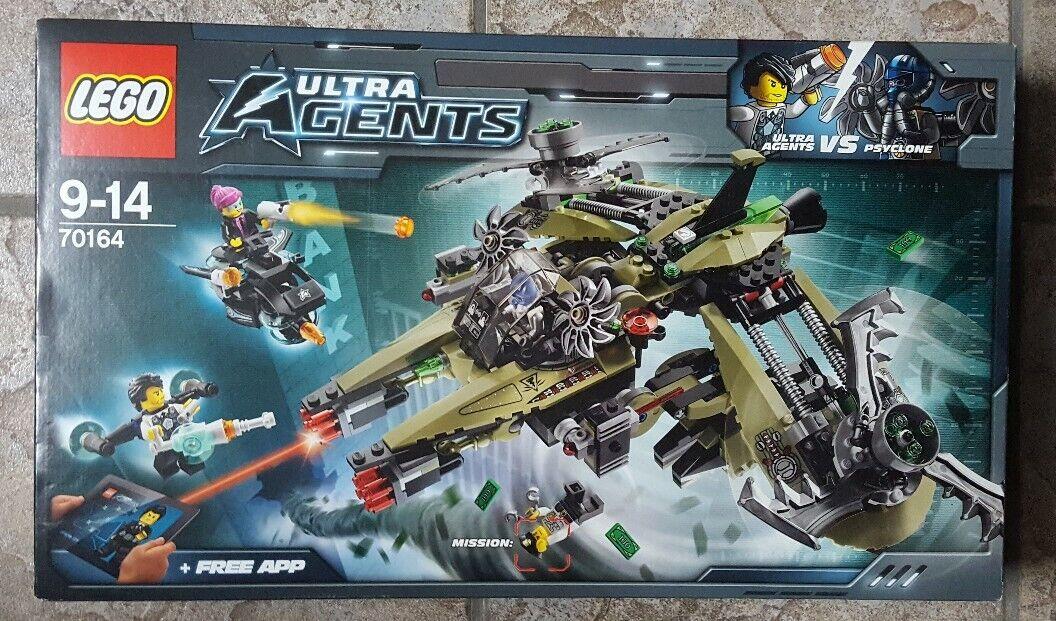 Lego Ultra Agents 70164 Hurricane Heist