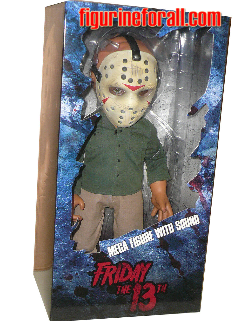 Mezco JASON VOORHEES Friday the 13th Mega scale 15