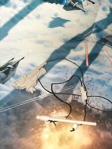 Star Wars 2010 Hasbro luke Skywalker's Snowspeeder Rear  Harpoon Gun And Cable