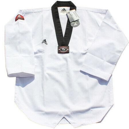 Adidas Taekwondo Uniform Dobok Martial Arts Karate For Men 태권도 도복