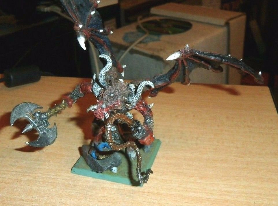 Warhammer Fantasy METAL Daemons Of Chaos Bloodthirster Greater Daemon Of Khorne