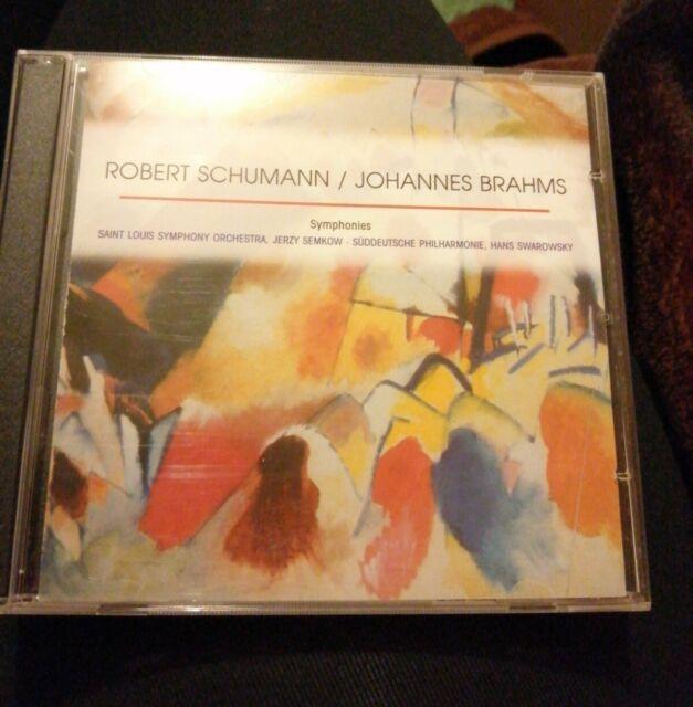 Robert Schumann Johannes Brahms: Symphonies CD 3 CD Set
