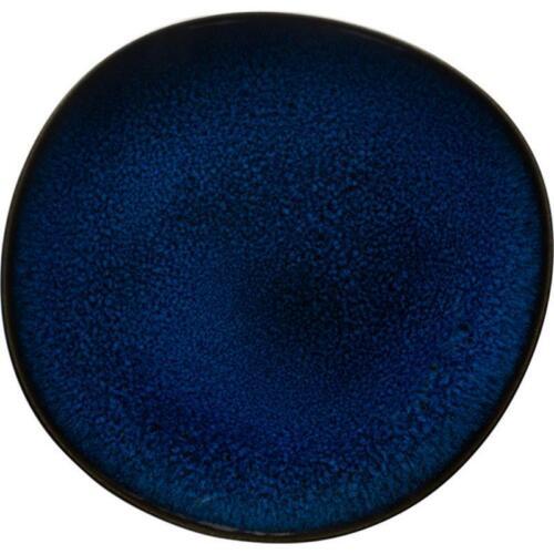 V/&B Pottery Lave Bleu Frühstücksteller 23 cm Kuchenteller Teller flach Steingut