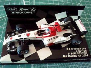 MINICHAMPS-400040109-Jenson-BUTTON-BAR-HONDA-006-1e-Pole-SAN-MARINO-2004