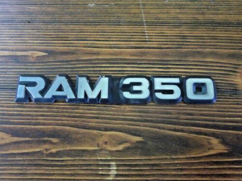 1994-97 DODGE RAM 350 FENDER EMBLEM 1