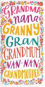 Grandmother gran nan happy mothers day card greeting cards image is loading grandmother gran nan happy mother 039 s day m4hsunfo