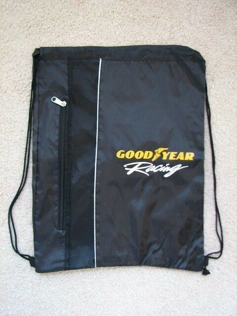 85d41e9899c2 Goodyear Racing Sport Pack Bag NASCAR Race Track Sprint Cup Tires Blimp  Backpack