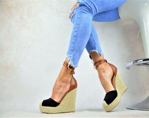 Designer Sandalen  Damenschuhe Sexy-Plateau High Heels Keilabsatz Party Pumps