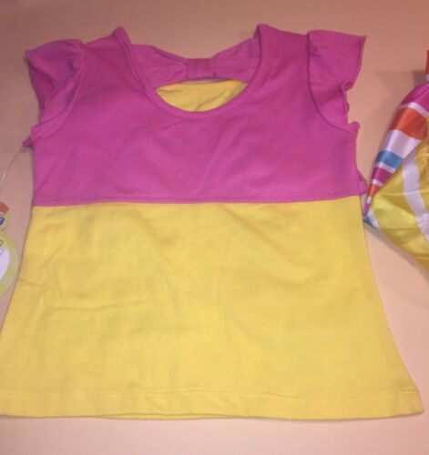 Bubble Guppies Toddler Girl Shirt Skirt /& Shorts Outfit Set New 3T Molly Oona