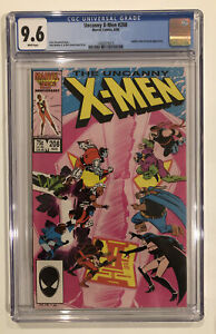 Uncanny X-Men #208 CGC 9.6 Chris Claremont JOHN ROMITA JR. 1986