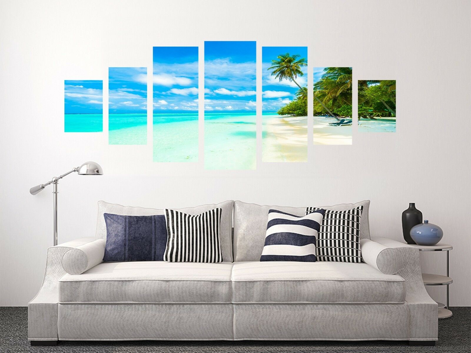 3D Palm Beach Sky 76 Unframed Print Wall Paper Decal Wall Deco Indoor AJ Jenny