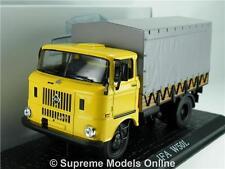 IFA W50L 1:43 SCALE MODEL LORRY 7167101 CLASSIC TRUCK IXO ATLAS YELLOW K8Q
