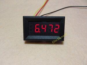 DC 8-30V Car Battery 12V 24V Level Voltage Monitor Meter Self-powered 2-Wirs ZS