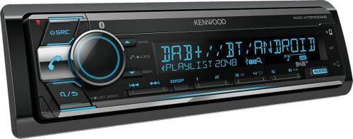 Kenwood KDC-X7200DAB 1-DIN Autoradio CD USB AUX LZK BT Android Iphone