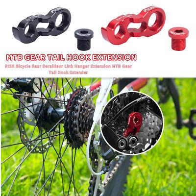 Bicycle Tail Hook Rear Derailleur Hanger Extension Extender Frame Gear BL