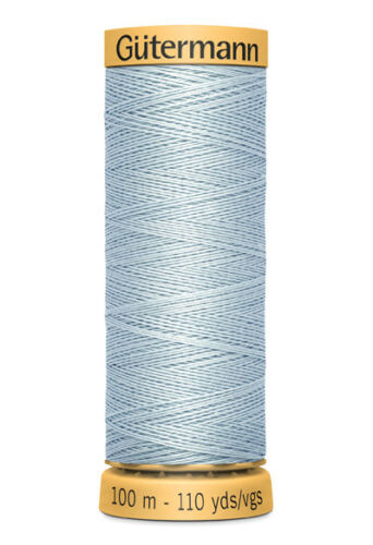 3.30 EUR//100 Meter Farbe Gütermann Baumwolle Nähgarn 100m 6217