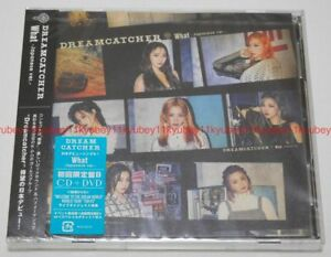 New-Dreamcatcher-What-Japanese-ver-First-Limited-Edition-Type-B-CD-DVD-Japan