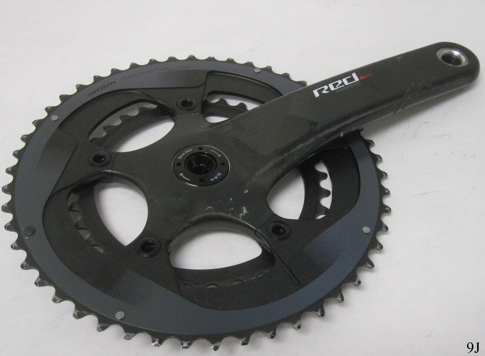 Sram rot X Glide Crank Arm und Chainrings 50 34T11 Spd110 BCD