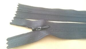 35cm freie Farbauswahl Nahtverdeckt 20 Reißverschlüsse