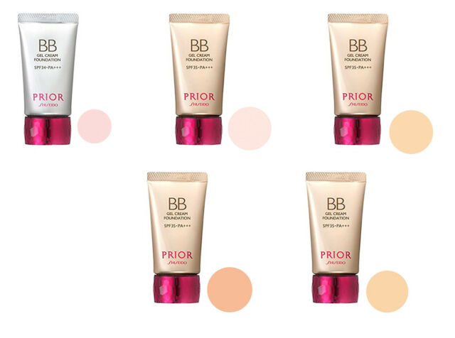 JAPAN Shiseido Prior  Beauty Gloss BB Gel Cream Multi Color  W/ TRACKING
