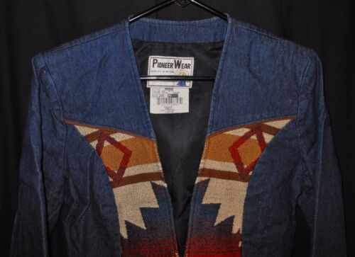 Rodeo Style denim western Medium donna Wear Pioneer in da Bolero Southwest Giacca zpq4wvxwg