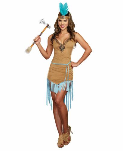 New Dreamgirl 9828 Native American Princess Womens Costume